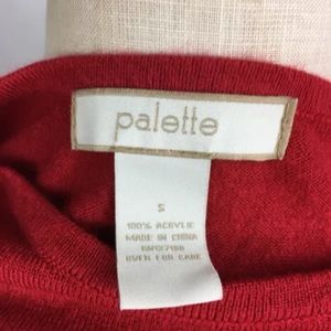 palette Sweaters - PALETTE Long Sleeve Top Sweater light Red Small